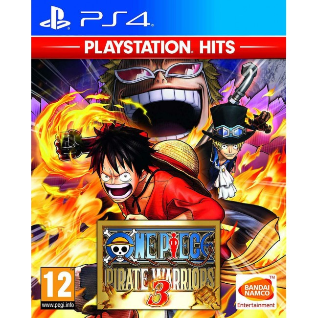 PS4 ONE PIECE PIRATE WARRIORS 3 HITS GAME