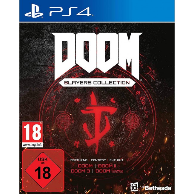 PS4 DOOM SLAYERS COLLECTION GAME