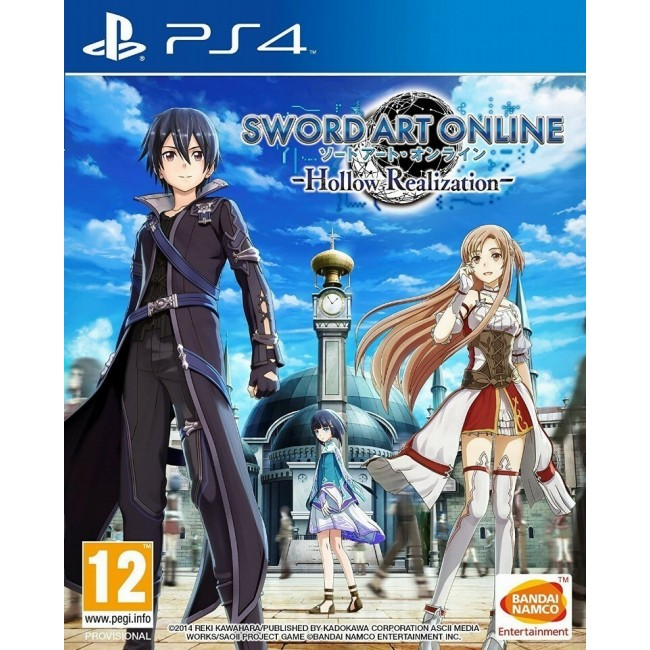 PS4 SWORD ART ONLINE HOLLOW REALIZATION GAME