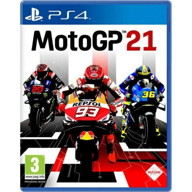 PS4 MOTO GP 21 GAME