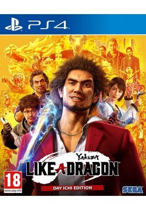 PS4 YAKUZA LIKE A DRAGON DAY ICHI STEELBOOK GAME