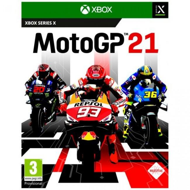 XBOX SERIES X MOTO GP 21 GAME