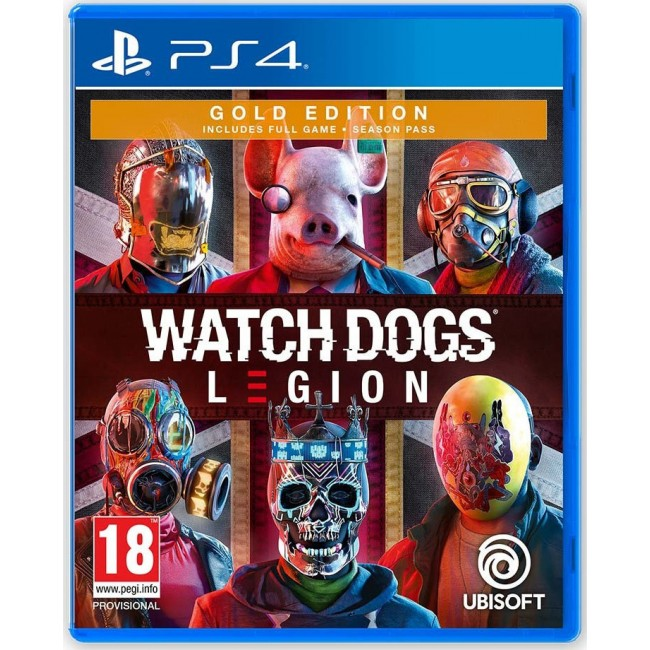 PS4 WATCHDOGS LEGION GOLD EDITION GAME