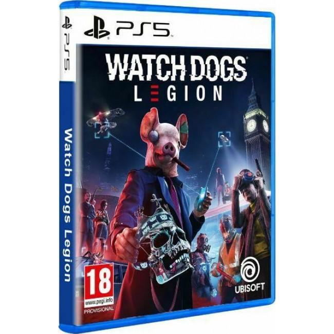 PS5 WATCHDOGS LEGION GAME