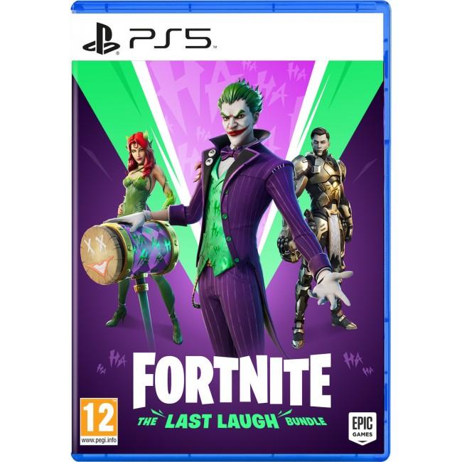 PS5 FORTNITE THE LAST LAUGH BUNDLE GAME