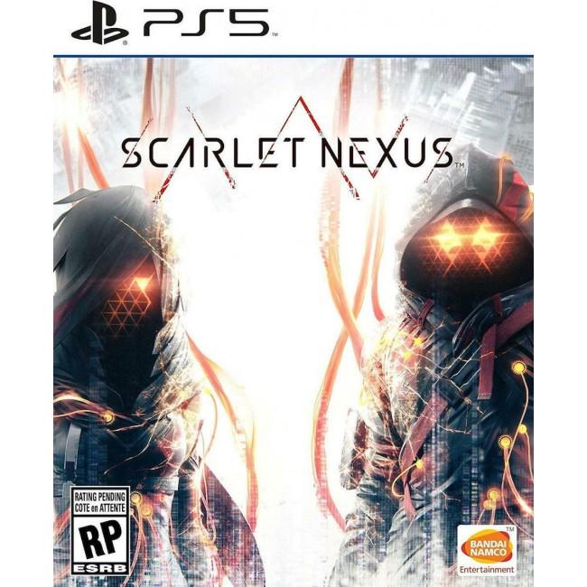 PS5 SCARLET NEXUS GAME