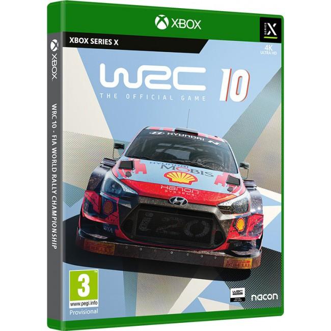 XBOX SERIES X WRC 10 GAME