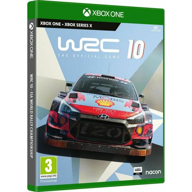 XBOX ONE/SERIES X WRC 10 GAME