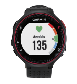 GARMIN FORERUNNER 235 WHR MARSALA RED/BLACK