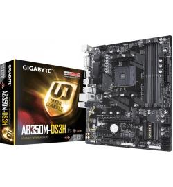 Motherboard Gigabyte AM4 GA-AB350M-DS3H