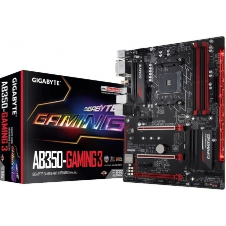 Motherboard GIGABYTE AB350 GAMI...