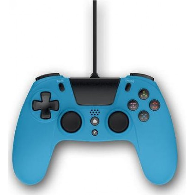 GIOTECK VX4PS4-12-MU WIRED CONTROLLER PS4 BLUE