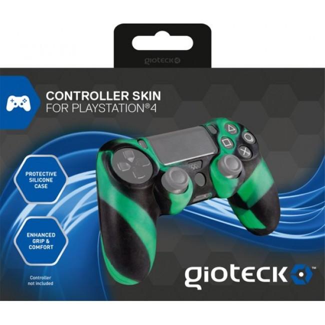 GIOTECK CONTROLLER SKIN CAMO (PS4) CTSPS4-14-MU