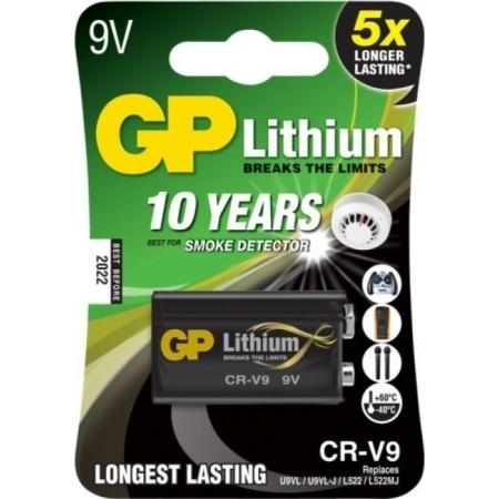 GP LITHIUM 9V CR-V9
