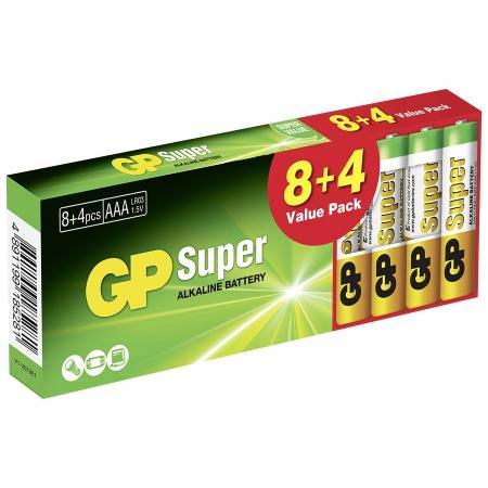 GP SUPER ALKALINE AAA LR03 MICR...