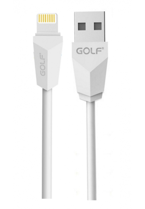 ΚΑΛΩΔΙΟ GOLF USB-8PIN FOR IPHONE 7/7PLUS WHITE(6959072766182)