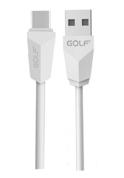ΚΑΛΩΔΙΟ GOLF USB-TYPE C WHITE(6958072766205)
