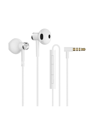 HANDSFREE XIAOMI MI HALF-EAR DUAL-UNIT 3.5mm WHITE ZBW4406TY