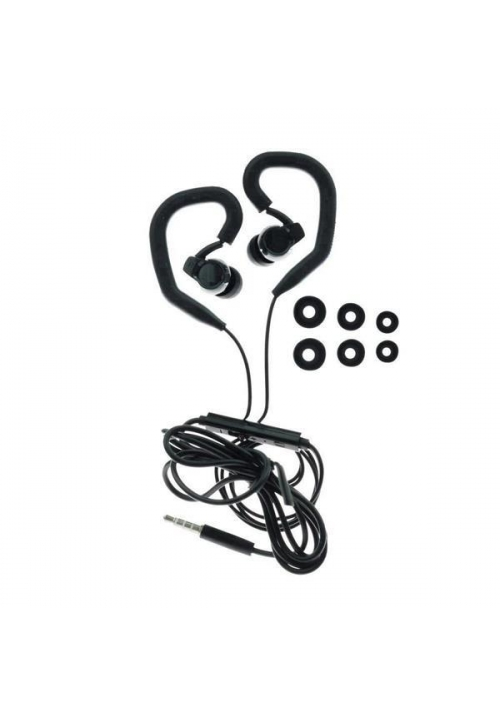 HANDSFREE BLUE STAR SPORT SP80 UNIVERSAL 3.5mm BLACK