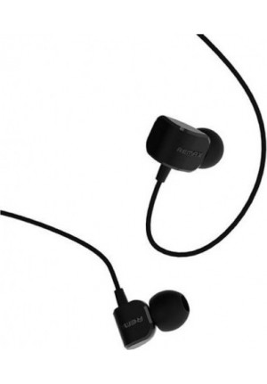 HANDSFREE REMAX RM-502 UNIVERSAL CANDY IN-EAR HEADPHONE BLACK