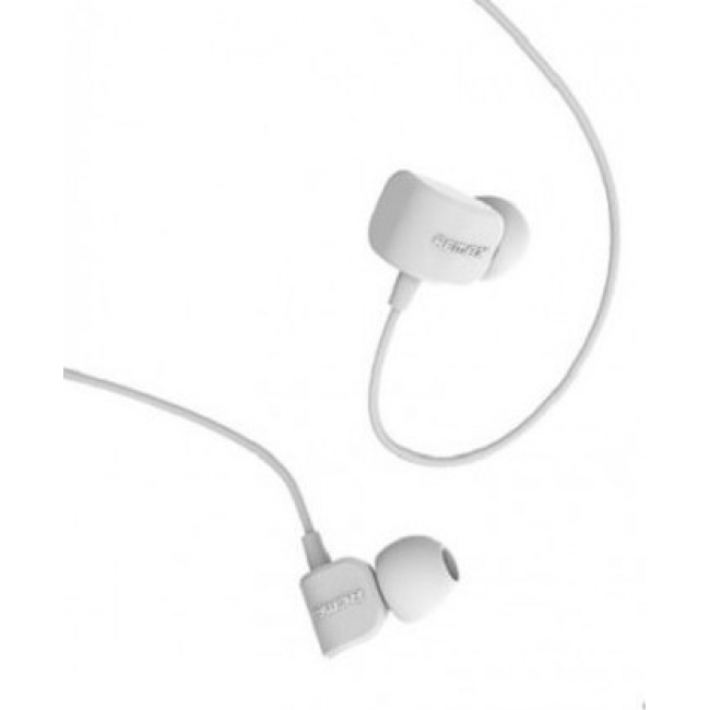 HANDSFREE REMAX RM-502 UNIVERSAL CANDY IN-EAR HEADPHONE WHITE