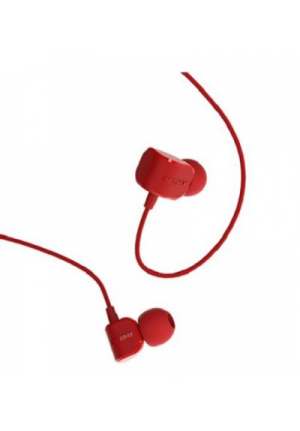 HANDSFREE REMAX RM-502 UNIVERSAL CANDY IN-EAR HEADPHONE RED