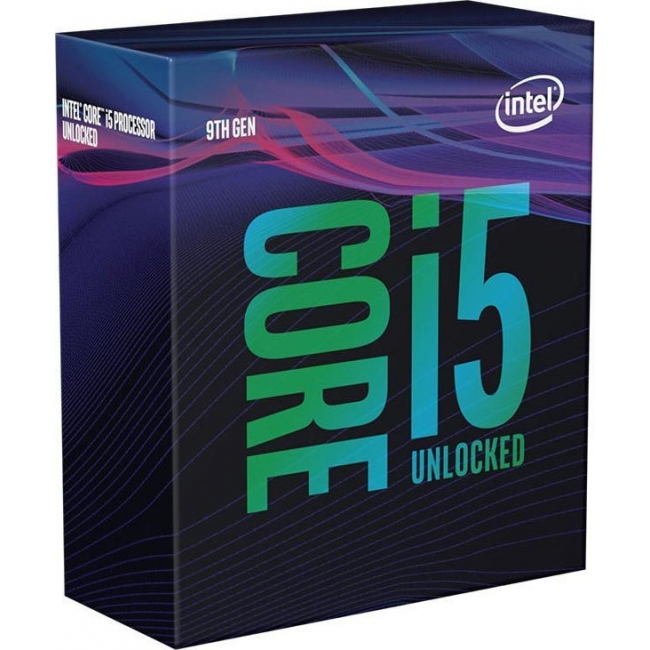 CPU INTEL 1151 I5-9600K 3.7GHz BOX (BX80684I59600K)
