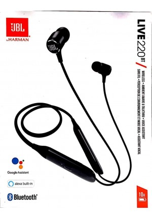 JBL LIVE 220BT NECKBAND WIRELESS BLACK EU
