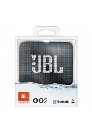 JBL GO 2 BLUETOOTH SPEAKER BLACK