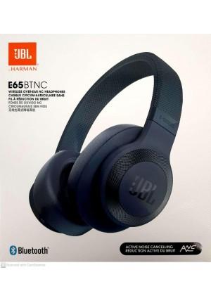 JBL E65BTNC BLUETOOTH HEADPHONES BLUE