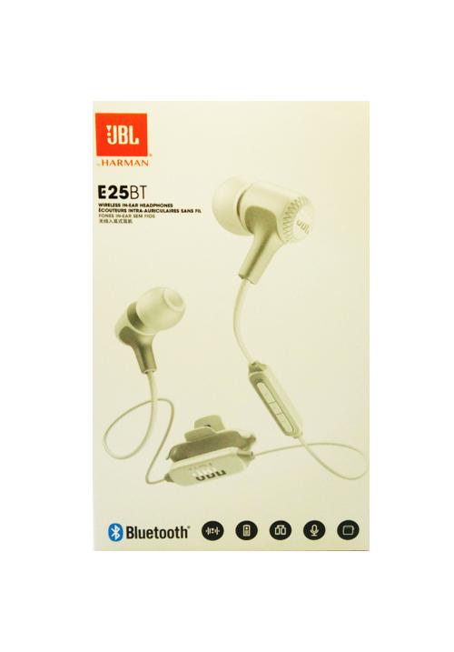 JBL E25BT IN-EAR BLUETOOTH HANDSFREE WHITE