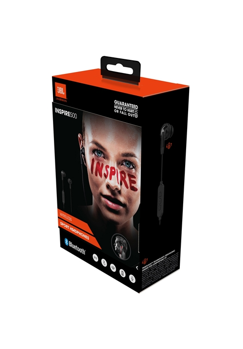 JBL INSPIRE 500 BLUETOOTH WIRELESS HANDFREE BLACK