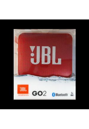 JBL GO 2 BLUETOOTH SPEAKER RED