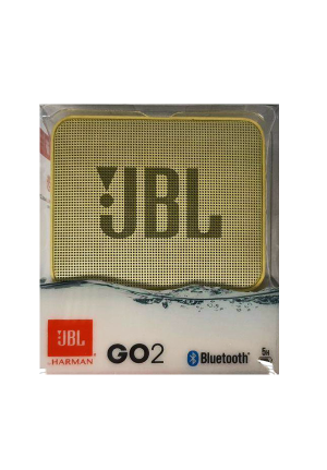 JBL GO 2 BLUETOOTH SPEAKER YELLOW