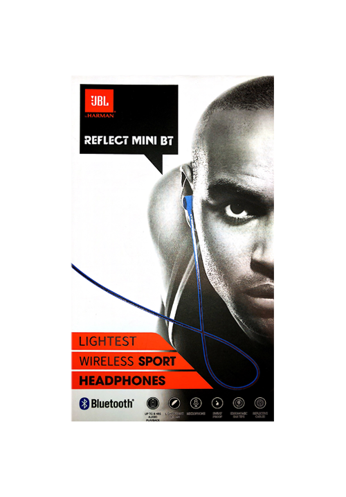 JBL REFLECT MINI BLUETOOTH WIRELESS HANDFREE BLUE
