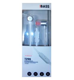 JBL T290 IN-EAR HANDSFREE SILVER