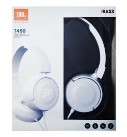 JBL T450 HEADPHONES WHITE