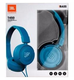 JBL T450 HEADPHONES BLUE