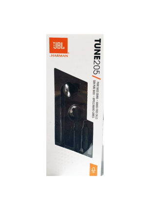JBL TUNE 205 HANDSFREE BLACK