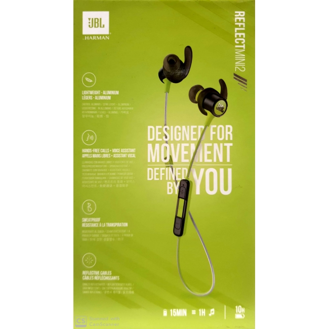 JBL REFLECT MINI 2 BLUETOOTH WIRELESS HANDFREE GREEN