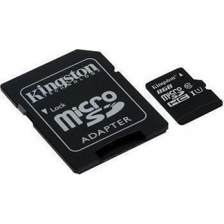 MICRO SDHC KINGSTON 8GB CLASS 4...