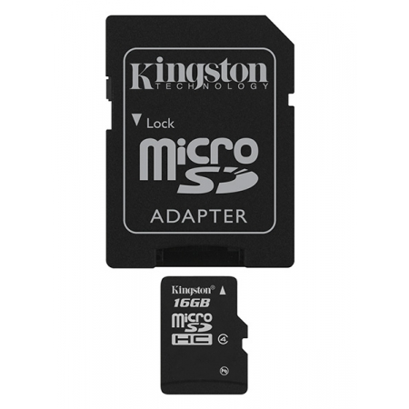 MICRO SDHC KINGSTON 16GB CLASS ...