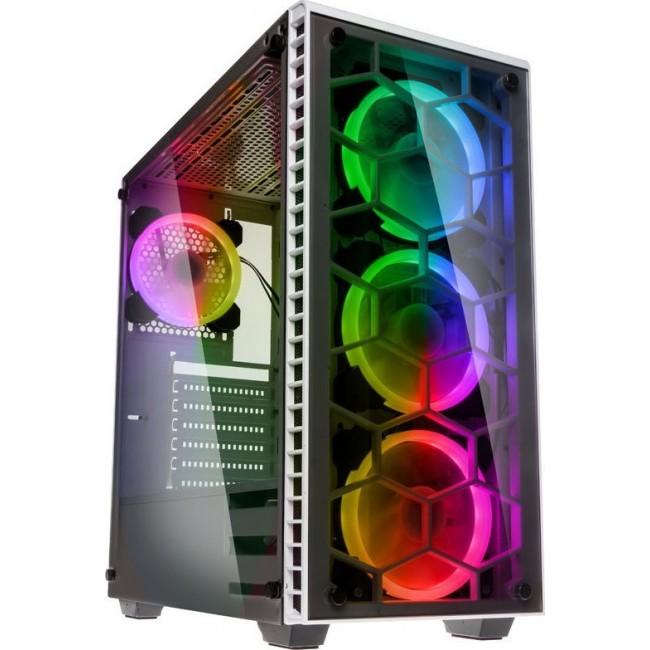 CASE KOLINK OBSERVATORY RGB MIDI TOWER WHITE GEKL-037