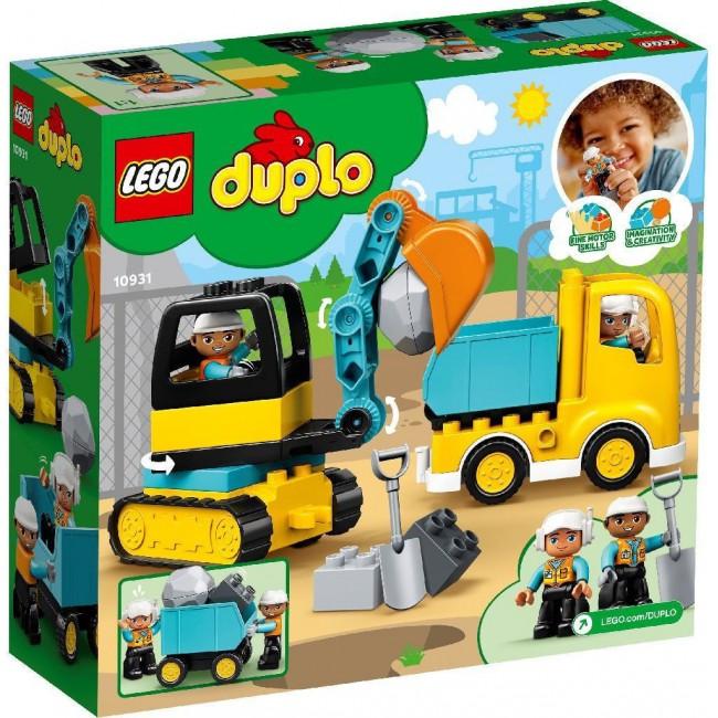 LEGO DUPLO 10931 TRUCK & TRUCKED EXCAVATOR