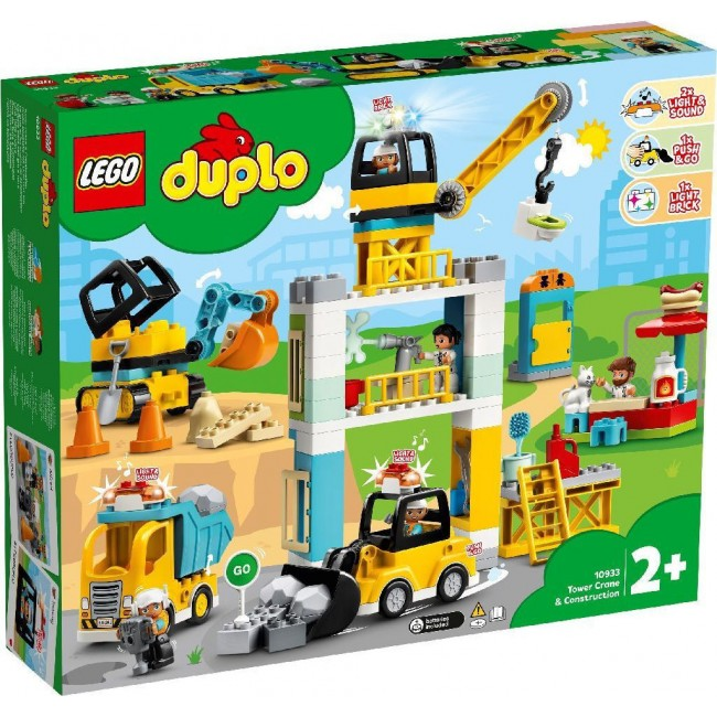LEGO DUPLO 10933 TOWER CRANE&CONSTRUCTION