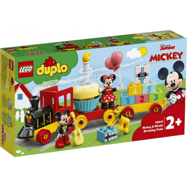 LEGO DUPLO 10941 MICKEY&MINNIES BIRTHDAY TRAIN