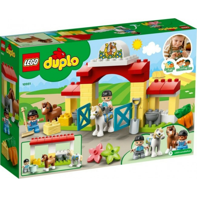 LEGO DUPLO 10951 STABLE AND PONY CARE