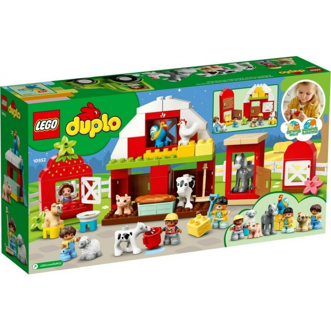 LEGO DUPLO 10952 BARN TRACTOR AND ANIMAL CARE