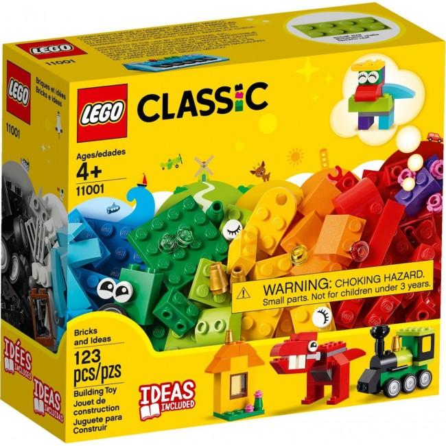 LEGO CLASSIC 11001 BRICKS AND IDEAS BUILDING KIT