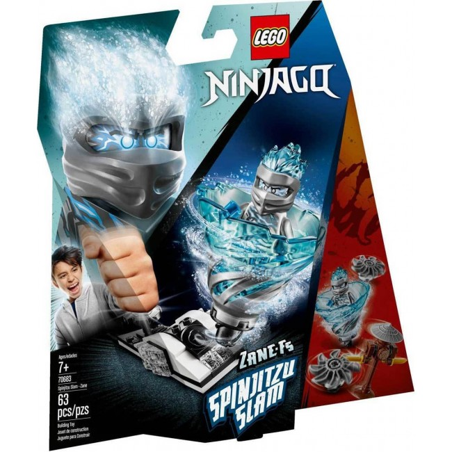 LEGO NINJAGO 70683 SPINJITZU SLAM ZANE